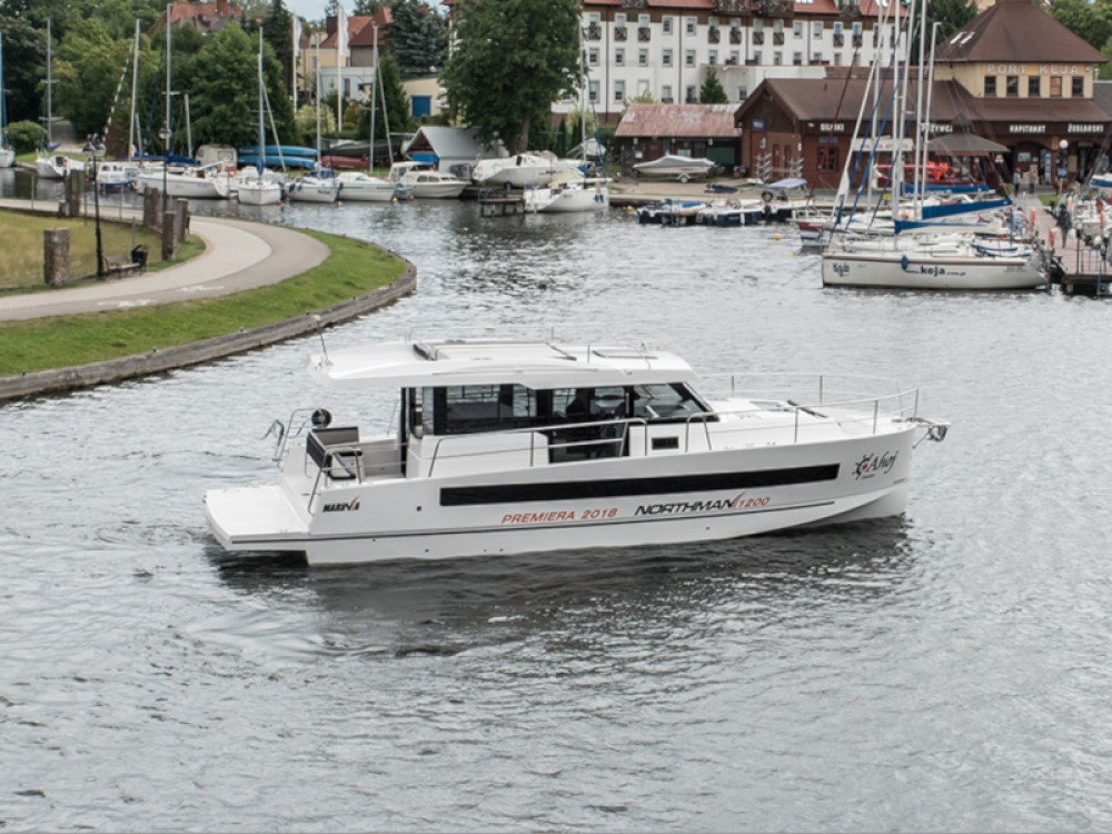 Rental yacht Węgorzewo -  Northman 1200 on SamBoat