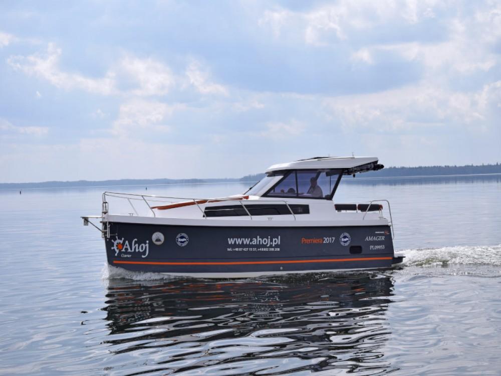 Rental Motor boat in Węgorzewo - Northman Nexus Revo 870 Prestige +/1cab
