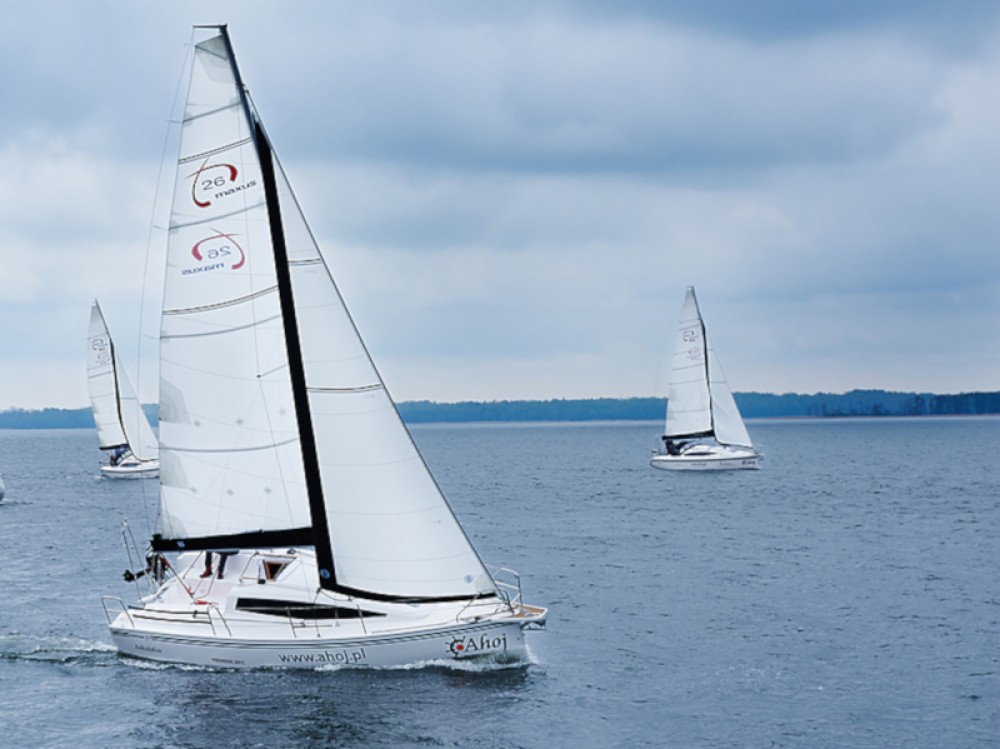 Rental Sailboat in Węgorzewo - Northman Maxus 26 Prestige 8/1