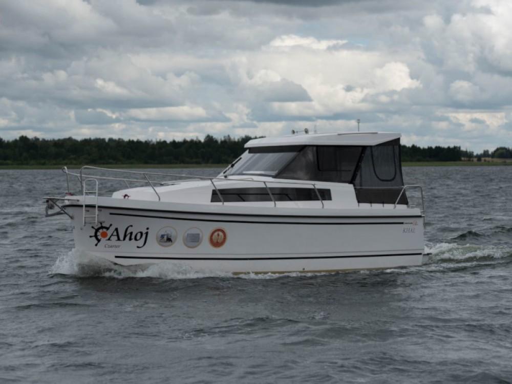 Boat rental Węgorzewo cheap Nexus Revo 870 Prestige +/1cab