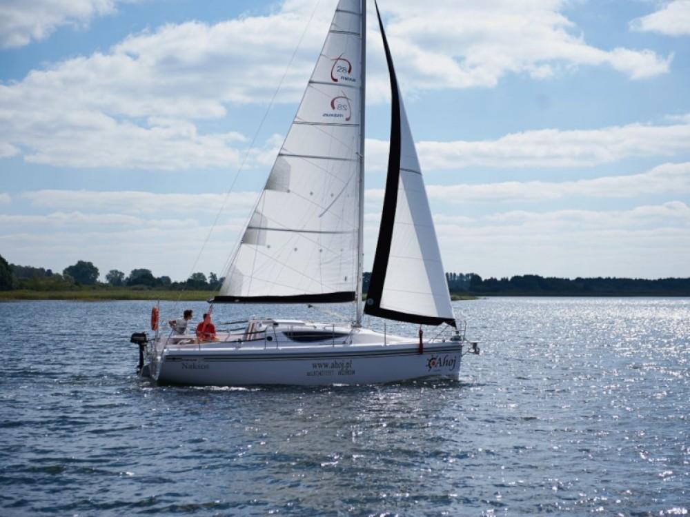 Rental Sailboat in Wilkasy - Northman Maxus 28 Prestige