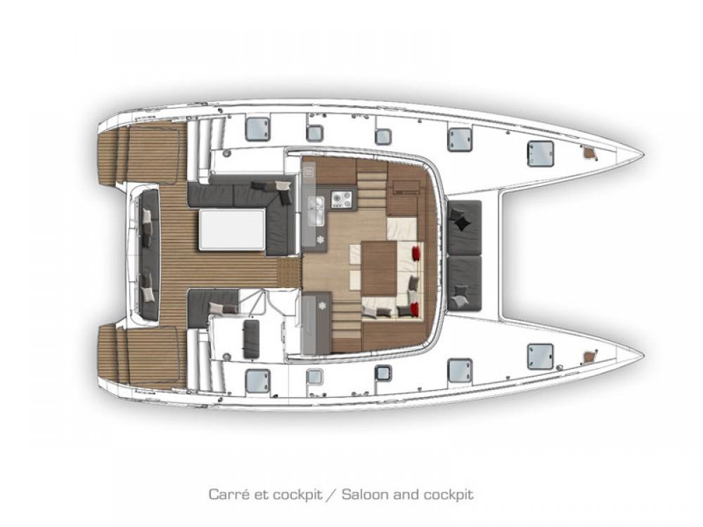 Boat rental Primošten cheap Lagoon 40