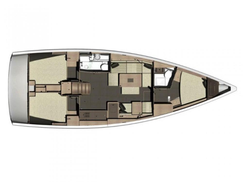 Rental yacht Primošten - Dufour Dufour 410 Grand Large on SamBoat