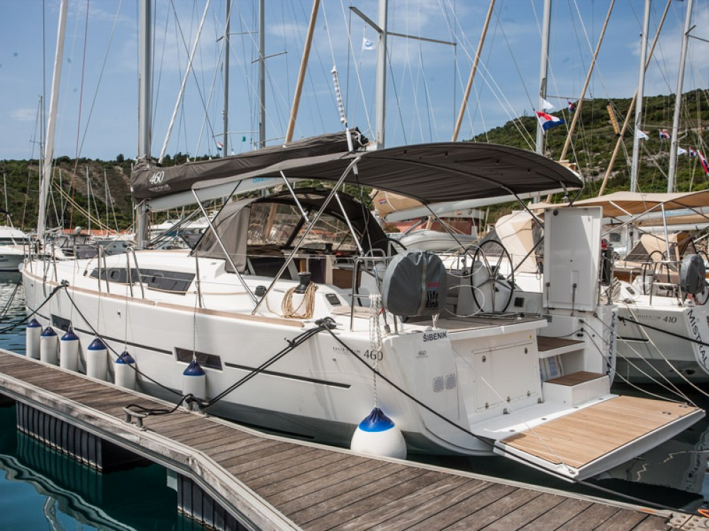 Boat rental Primošten cheap Dufour 460 Grand Large