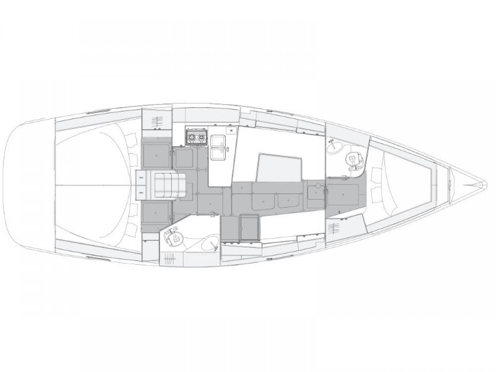 Boat rental Elan Elan 40.1 in Primošten on Samboat
