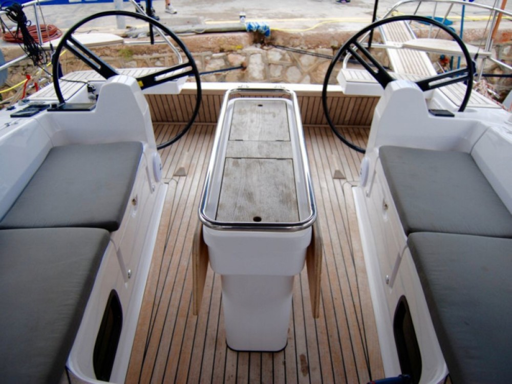 Boat rental Alimos Marina cheap Elan Impression 45
