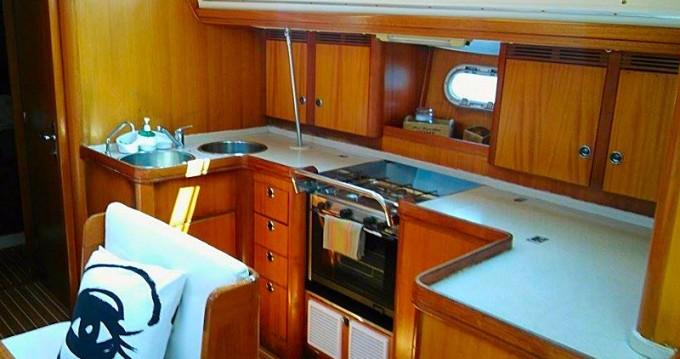 Boat rental Néos Marmarás cheap Elan 45