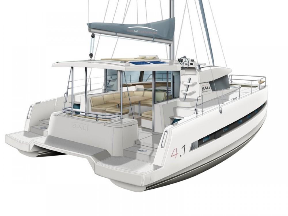Hire Catamaran with or without skipper Bali Furnari