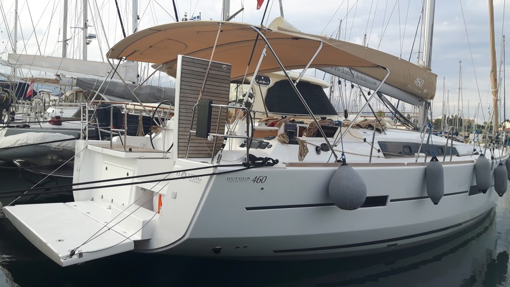 Dufour Dufour 460 Grand Large between personal and professional Taranto