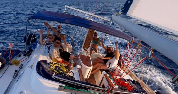 Boat rental Paros Island cheap Gib Sea 51
