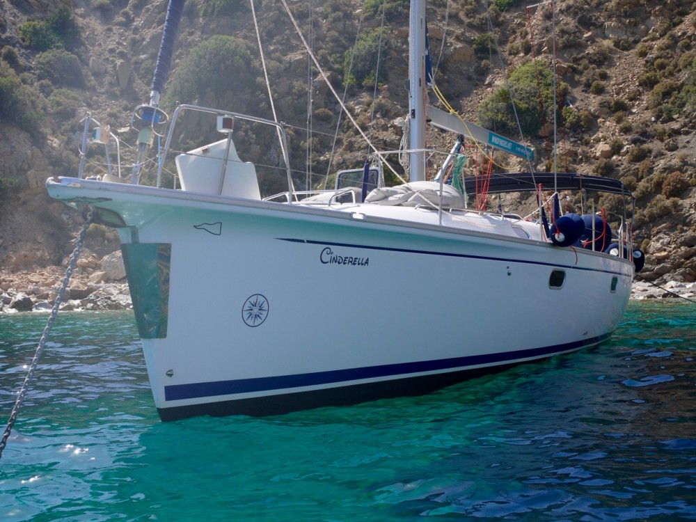 Boat rental Greece cheap Gib Sea 51