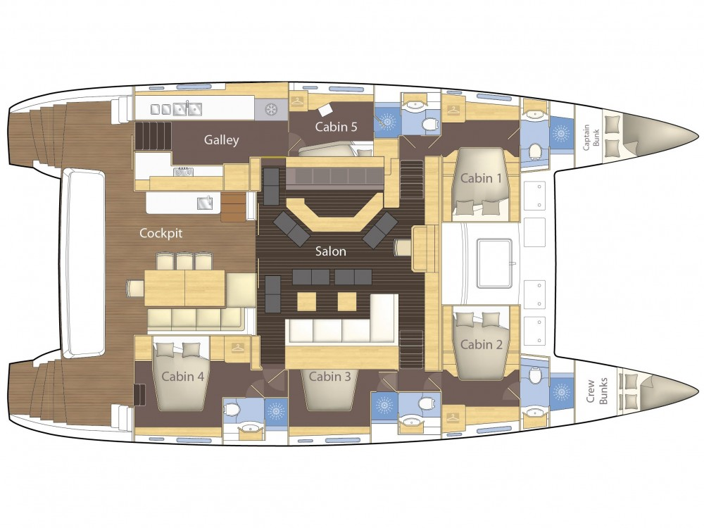 Catamaran for rent El Nido at the best price