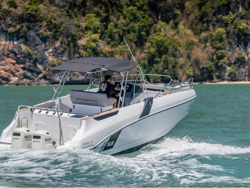 Boat rental Phuket cheap Beneteau Flyer 8.8