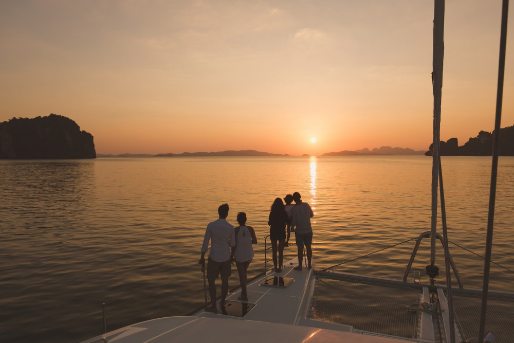 Boat rental Phuket Province cheap Lagoon 52F