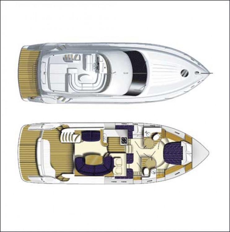 Rental yacht Kontokali - Princess Princess 45 on SamBoat