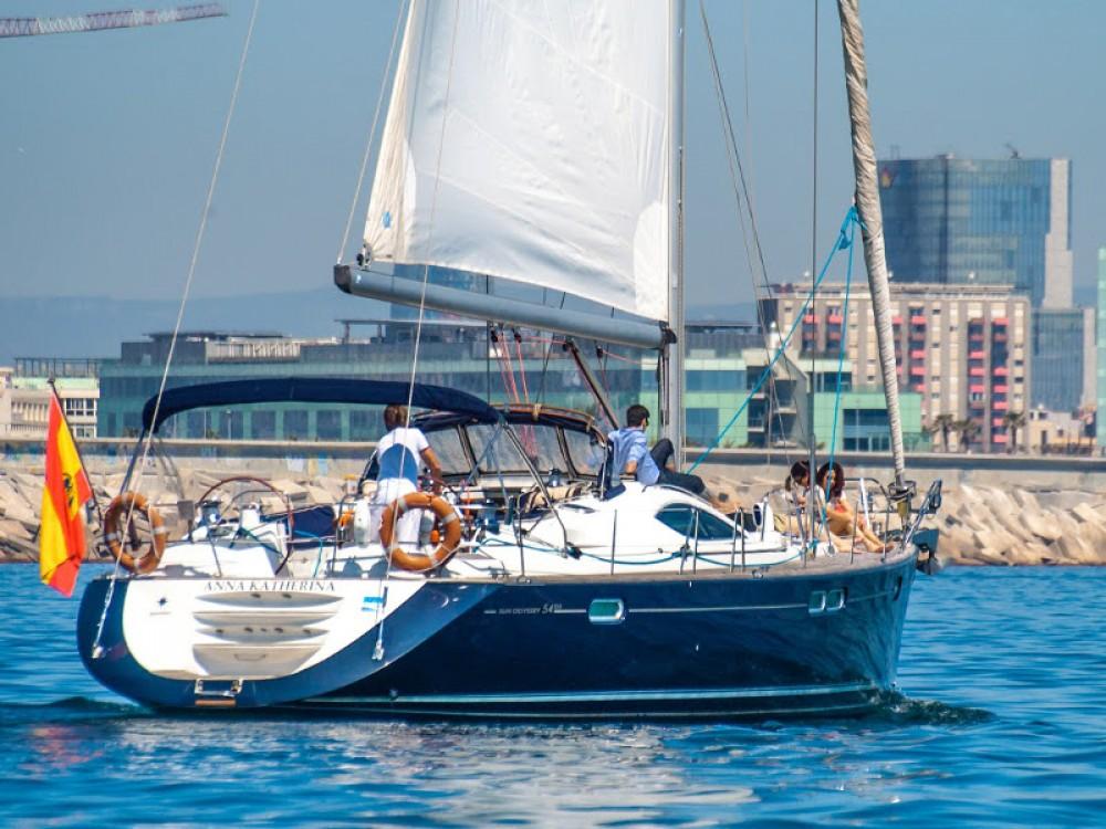 Rent a Jeanneau Jeanneau Sun Odyssey 54DS Barcelona