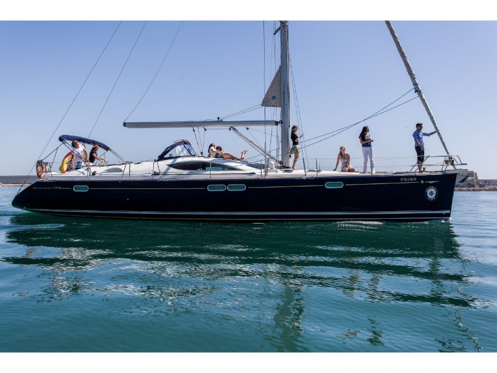 Sailboat for rent Barcelona at the best price
