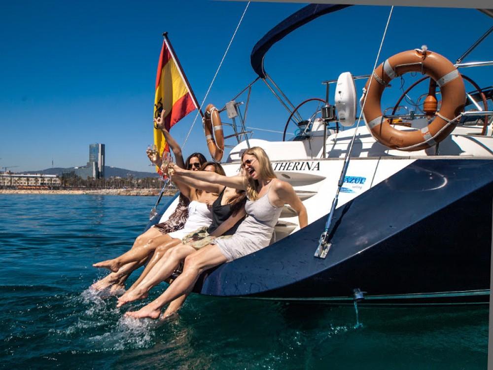 Boat rental Barcelona cheap Jeanneau Sun Odyssey 54DS
