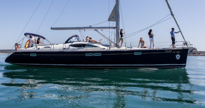 Hire Sailboat with or without skipper Jeanneau Palma de Mallorca