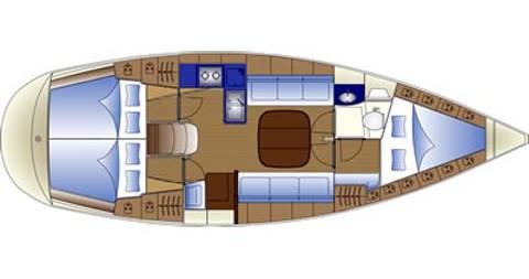 Boat rental Barcelona cheap Bavaria 36