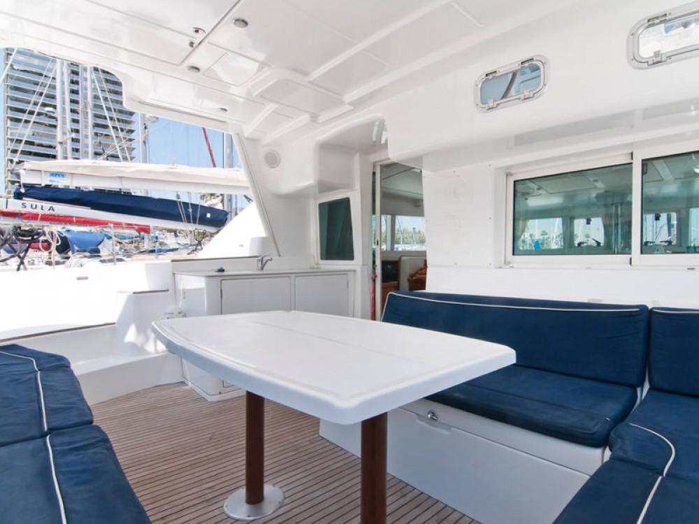 Rental Catamaran in Barcelona - Lagoon Lagoon 440