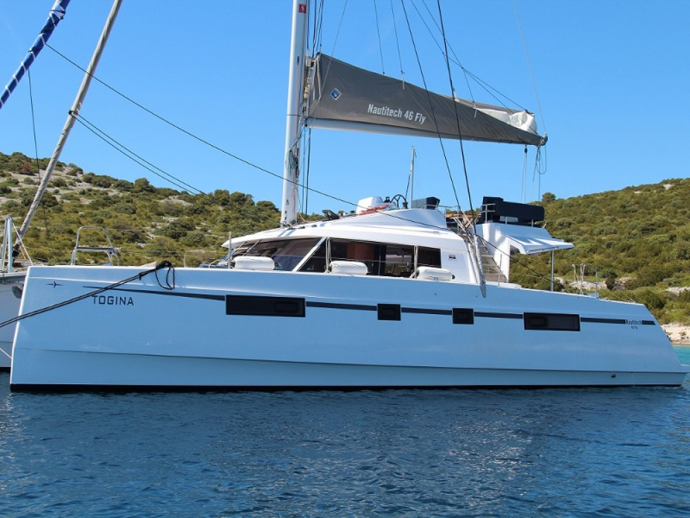 Boat rental Castries cheap Nautitech 46 Fly