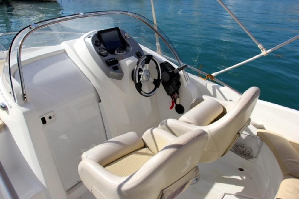 Boat rental ACI Marina Trogir cheap Beneteau Flyer 550 SD