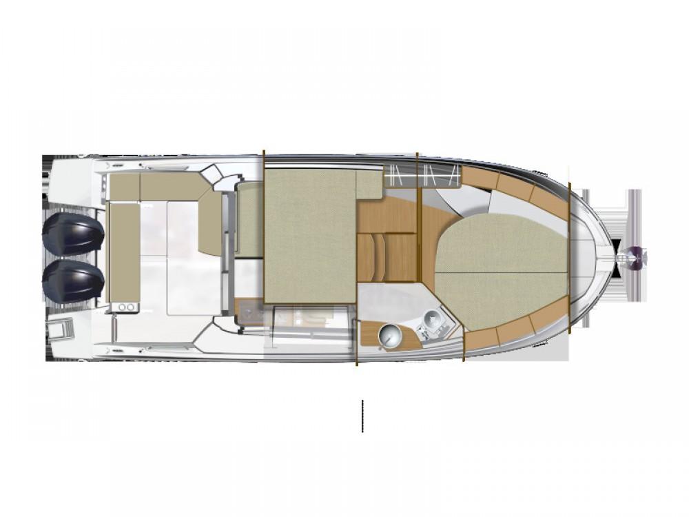 Boat rental Grad Zadar cheap Antares 9 OB