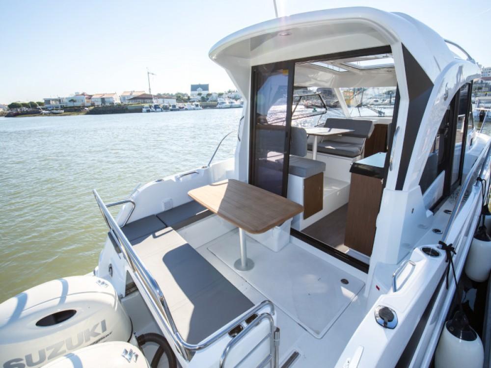 Boat rental Zadar cheap Antares 9 OB