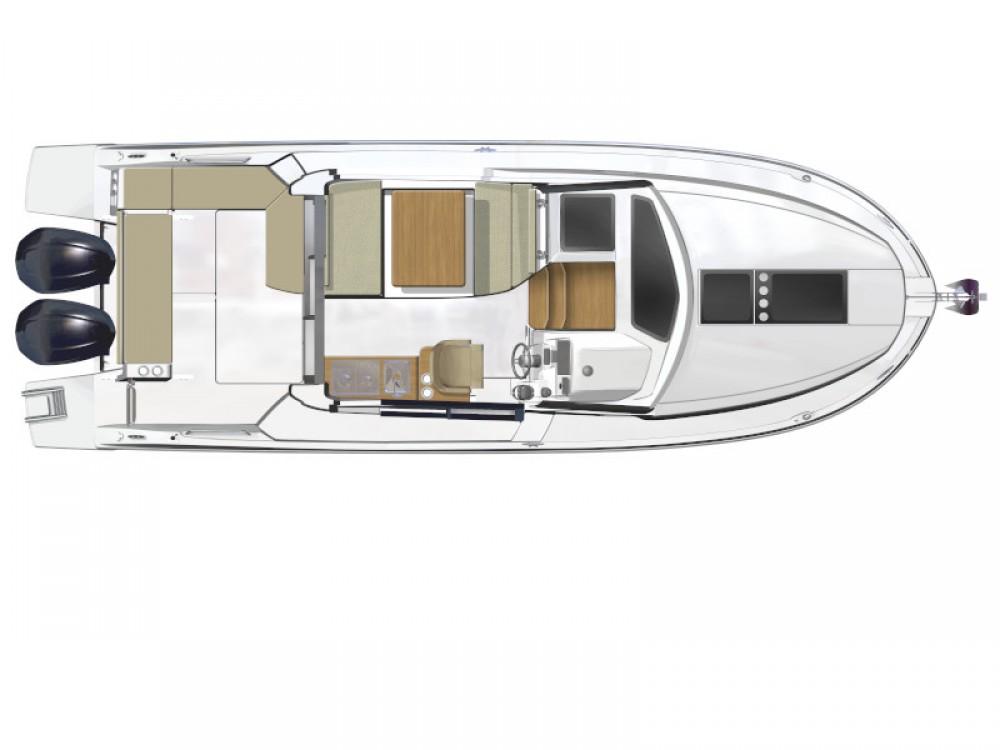 Boat rental D-Marin Borik cheap Antares 9 OB