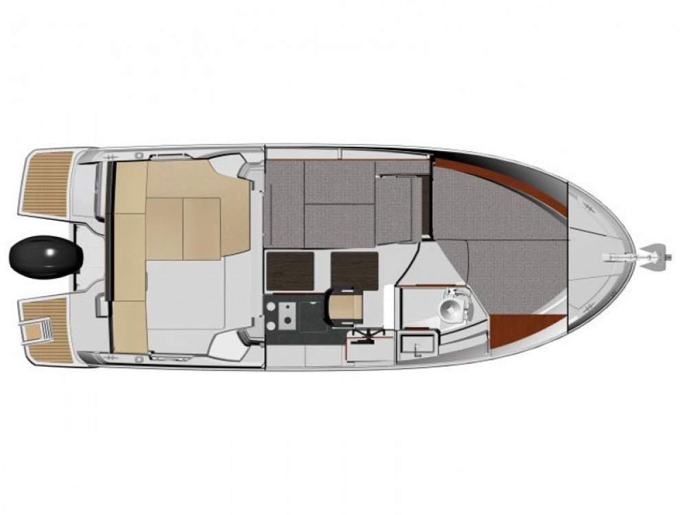 Jeanneau Merry Fisher 795 between personal and professional Trogir