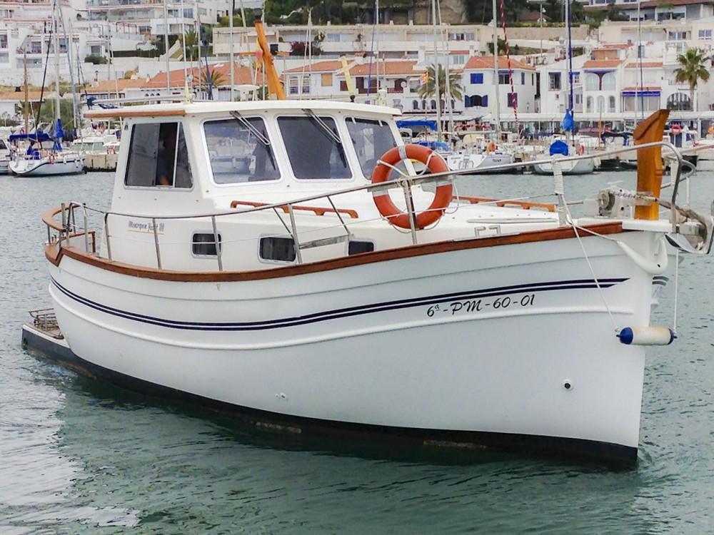 Motor boat for rent Port esportiu d'Aiguadolç at the best price