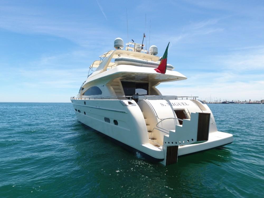 Rental Yacht Astondoa with a permit