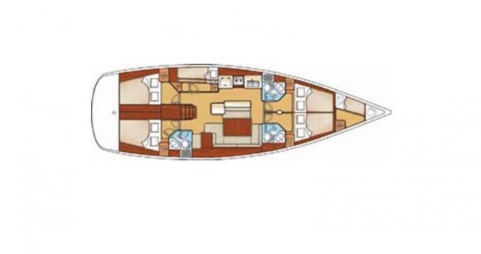 Rental Sailboat in San Vincenzo - Bénéteau Cyclades 50.5