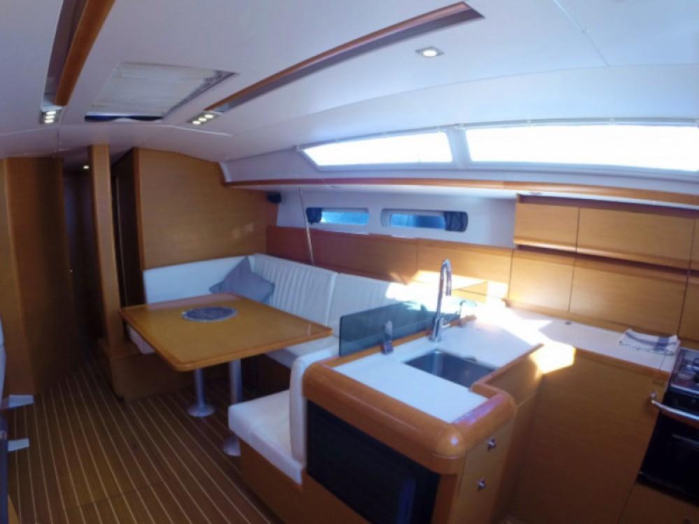 Boat rental Balearic Islands cheap Sun Odyssey 439