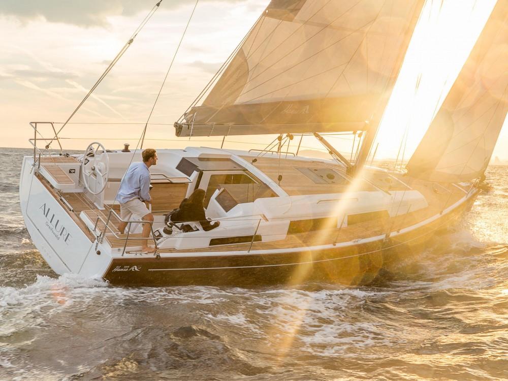 Boat rental Puerto Deportivo Tomás Maestre cheap Hanse 388