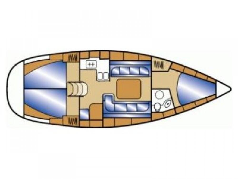 Boat rental Bavaria Bavaria Cruiser 37 in Grad Zadar on Samboat