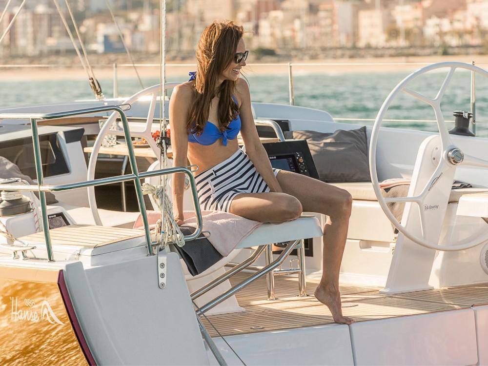 Rental Sailboat in Murcia - Hanse Hanse 388