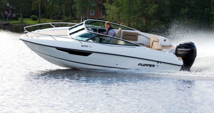 Rental Motorboat Bella with a permit