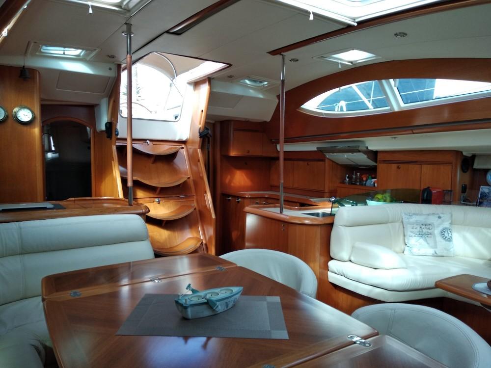 Boat rental Lefkada cheap Sun Odyssey 54DS