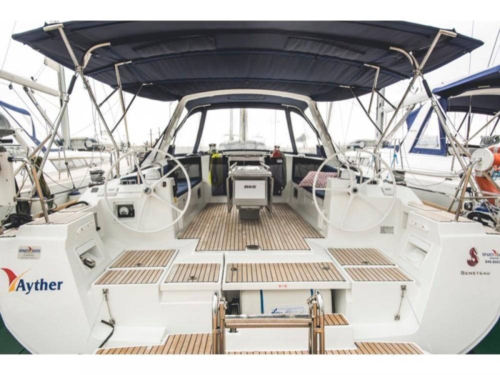 Boat rental Marina d'Arechi cheap Oceanis 45