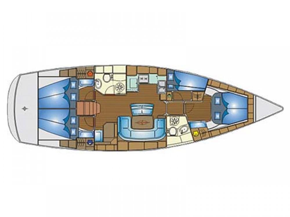 Boat rental  cheap Bavaria 46 Cruiser