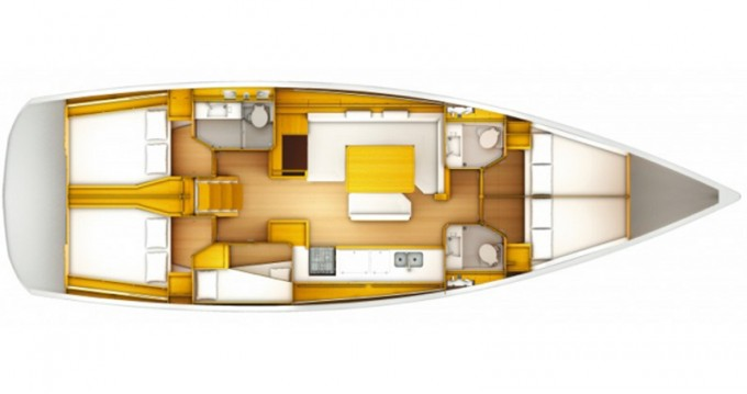 Rental yacht Salerno - Jeanneau Sun Odyssey 519 on SamBoat