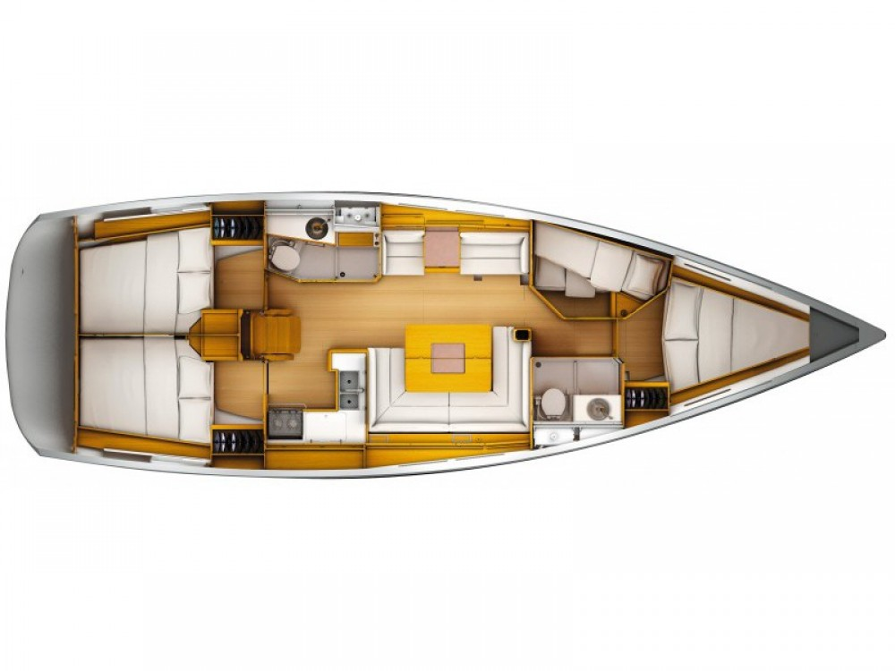 Boat rental Olbia cheap Sun Odyssey 449