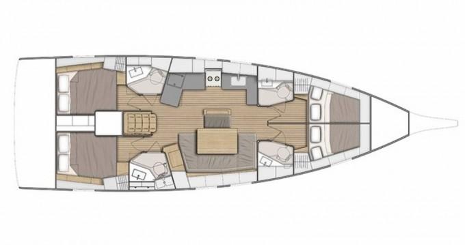 Boat rental Olbia cheap Oceanis 46.1