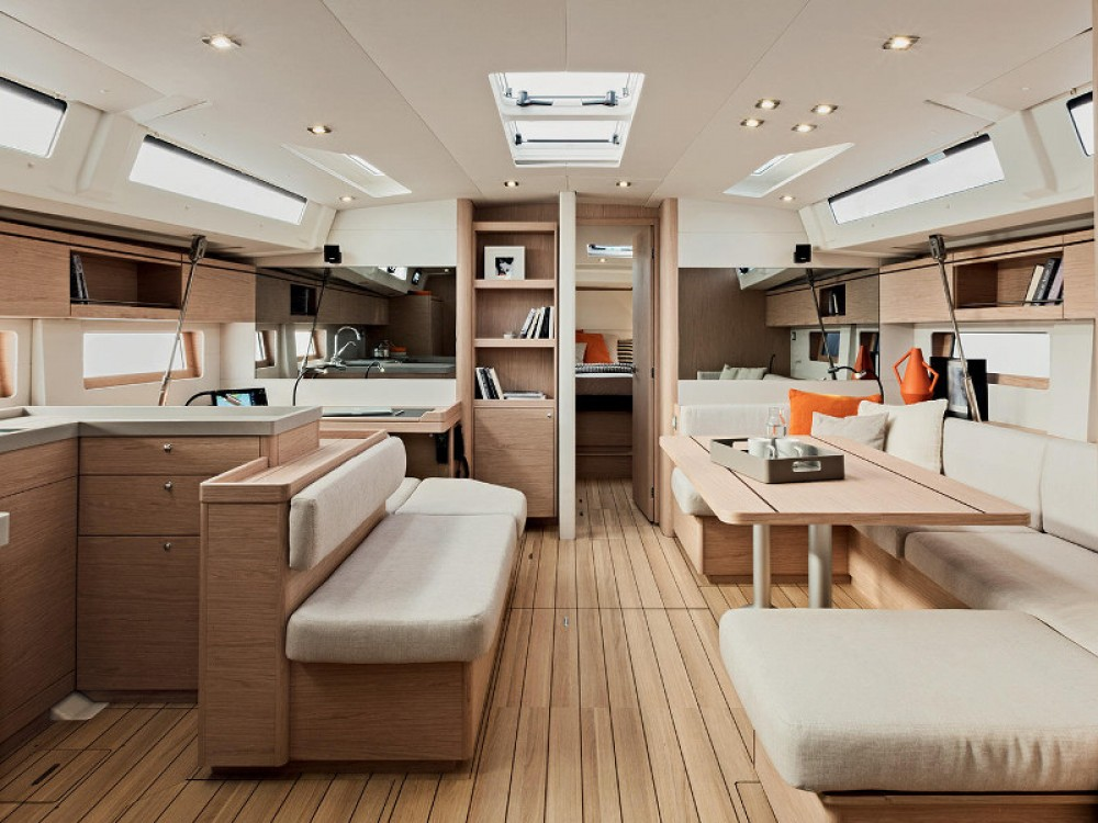 Rental yacht Marina d'Arechi - Bénéteau Oceanis 51.1 (Gen+A/C) on SamBoat