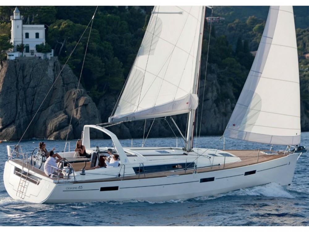 Boat rental Capo d'Orlando cheap Oceanis 45
