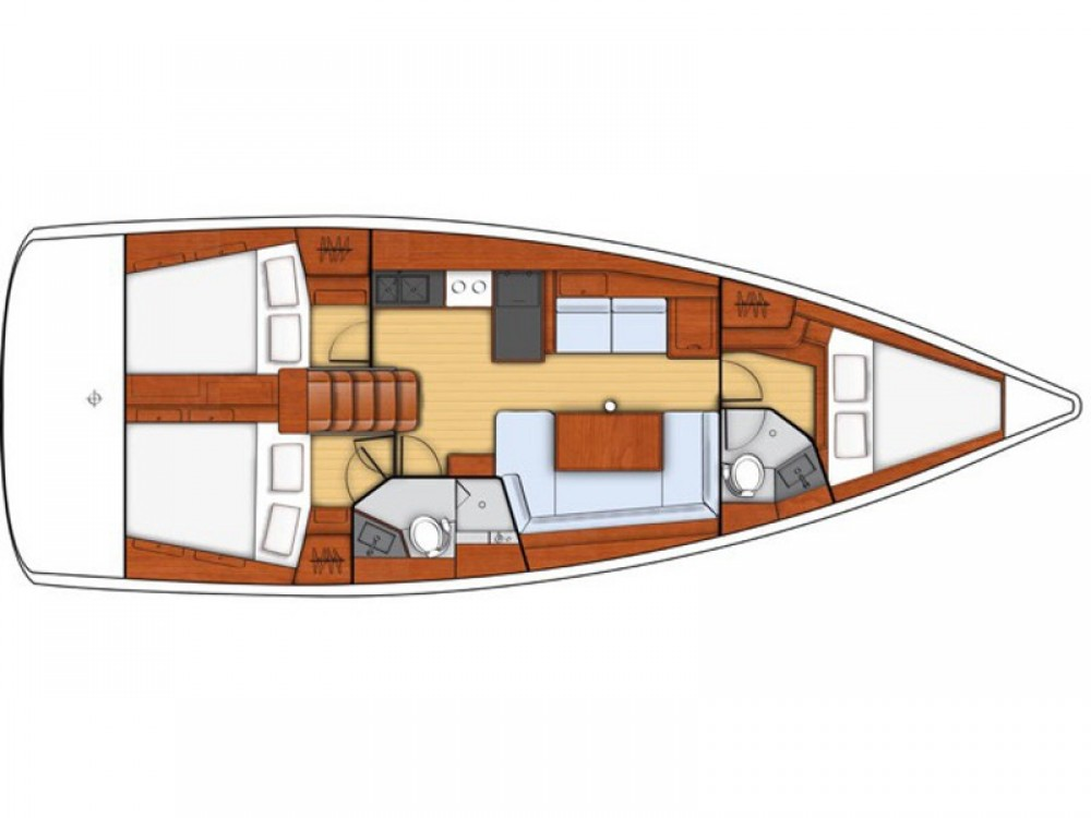 Bénéteau Oceanis 41 Style between personal and professional Furnari