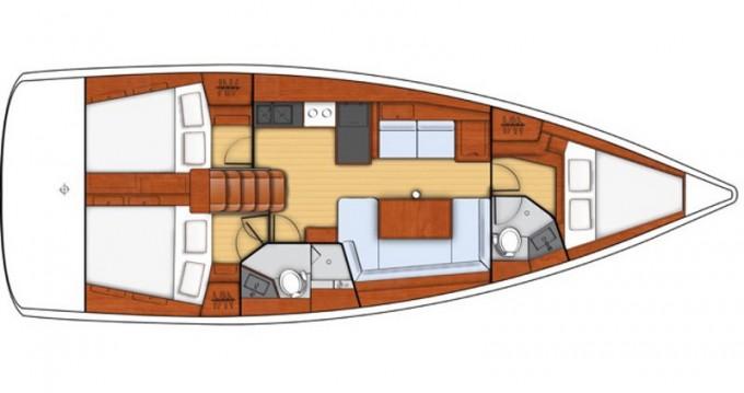 Rental Sailboat in Marina di Portorosa - Bénéteau Oceanis 41 Style