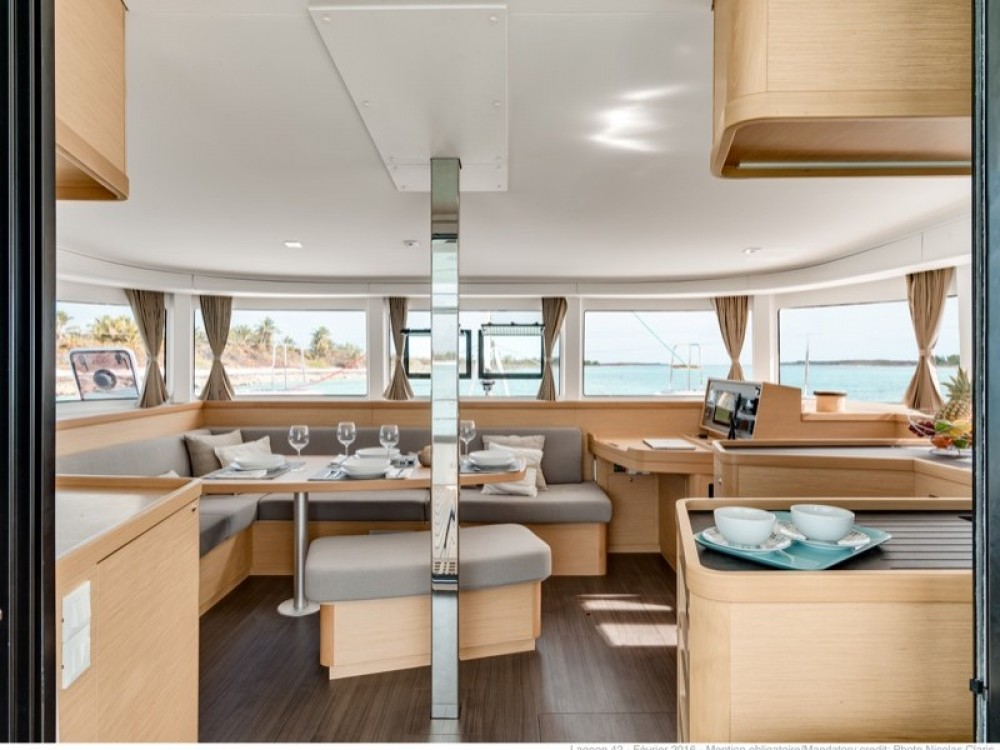 Boat rental Salerno cheap Lagoon 42 (Gen+A/C+WM)